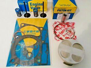 Honda 2007-2008 Mitaka CRF 450 R Top End Engine Rebuild Kit Piston Valve Gaskets