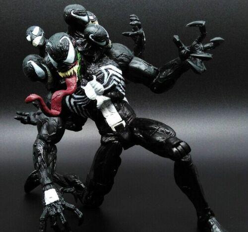 Marvel Spiderman SELECT Venom Villain Comic Action Figure PVC Doll Toys 20 cm