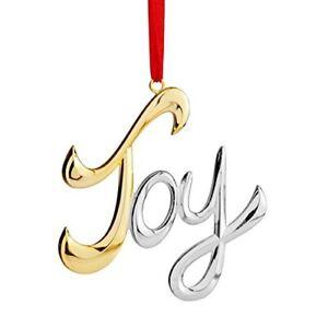 Nambe Holiday Joy Ornament 672275308794 | eBay