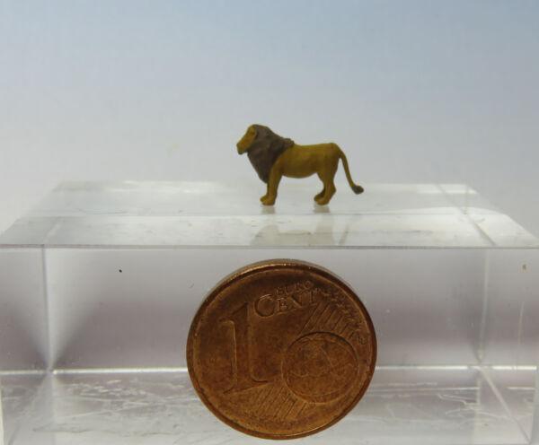 Audacieux (tl09) Lion Debout Figurine Échelle Échelle Z (1:220)