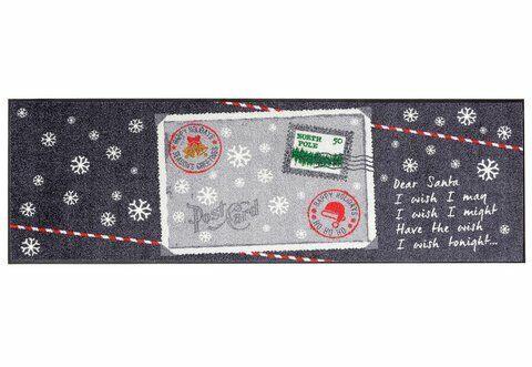 Kleen-Tex Fußmatte Schmutzfangmatte Matte 60x180 Fußabtreter Postcard Winter NEU