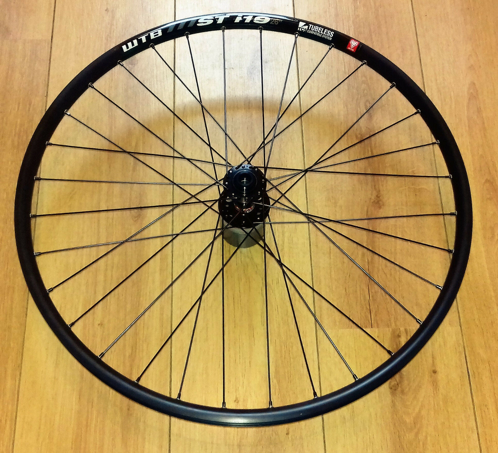 WTB Frequency, ST, or KOM, 26 or 27.5 inch, Novatec D791SB Hubs Front Wheels