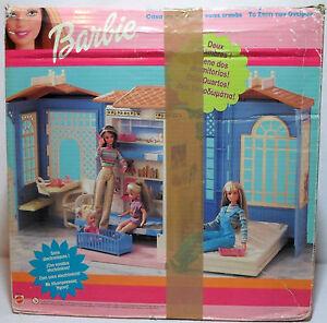 Barbie Vtg 1999 Dream Doll House Play Set European 95