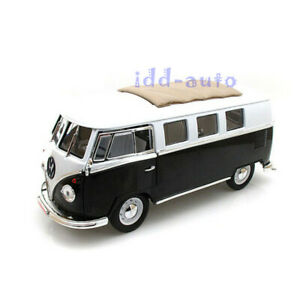 ROAD SIGNATURE 1962 VOLKSWAGEN MICROBUS BLACK 1/18 LTD TO 600PC 82327