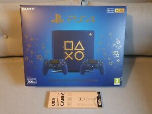 Sony-Playstation-PS4-dias-of-Consola-500GB-edicion-Limited-Azul-Play-en-Caja