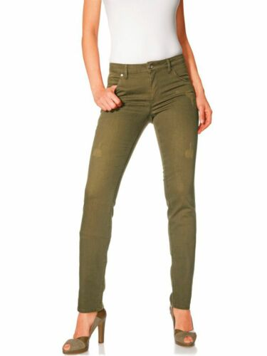 Kp 49,90 € destroyed Effetto BEST CONNECTION NUOVO!! TUBI-JEANS-Pantaloni B.C