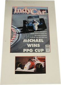 Michael-Andretti-Hand-Signed-Magazine-Cover-Professionally-Matted-GV-689738