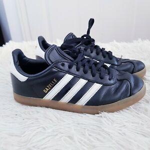 Adidas Gazelle Trainers-UK 4 Eur 36.5 - Noir & Blanc Homme, Garçon Baskets