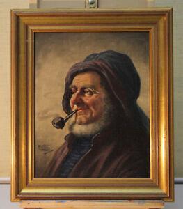Friedrich-Lettau-OIL-PAINTINGS-Portrait-Sailor-2-H-19-JH
