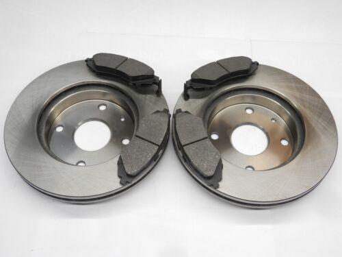 Bremsbeläge Bremsscheiben vorne für Daewoo Lacetti Nubira Rezzo Tacuma 1,4 1,6