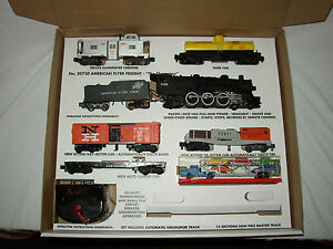 AMERICAN-FLYER-20730-REPRODUCTION-BOX-amp-INSERT-ONLY-NO-TRAINS-OR-CARS-20730-A