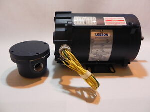 Leeson 114627 ac 3 phase explosion proof motor 1 2 hp 3450 for Leeson explosion proof motor