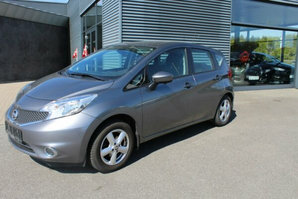 Nissan Note 1,2 Acenta Tech Pack billede 0