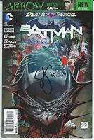 DC NEW 52 BATMAN #17 1:25 TONY DANIEL VARIANT  SIGNED SCOTT SNYDER RARE W/ COA