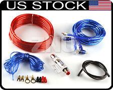 car 12 gauge amp fuse holder rca amplifier copper cable subwoofer rh ebay com subwoofer wiring kit with volume dial subwoofer wiring kit amazon