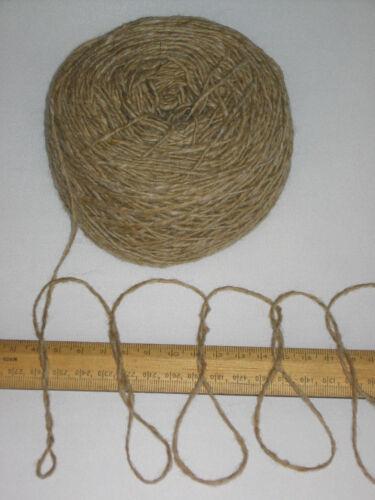 1000g 1kg 100/% pure knitting wool yarn Donegal Beige Tweed Pls read carefully