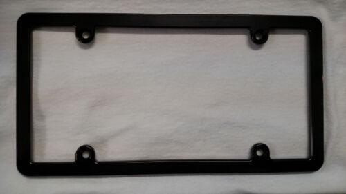 Black Slimline HMC Billet Aluminum License Plate Frame Anodized