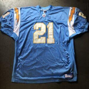 Details about Men's Reebok Authentic Pro Cut San Diego Chargers LaDainian Tomlinson Jersey 58