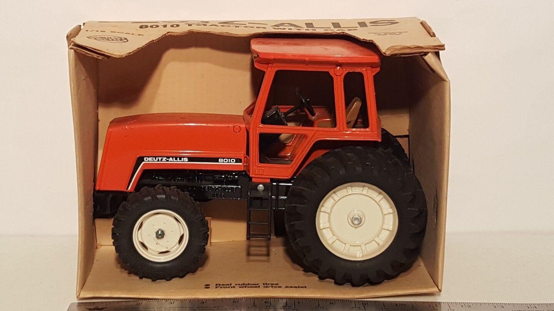 Ertl Allis Chalmers 8010 con FWA 1/16 diecast coleccionables réplica de tractor de granja