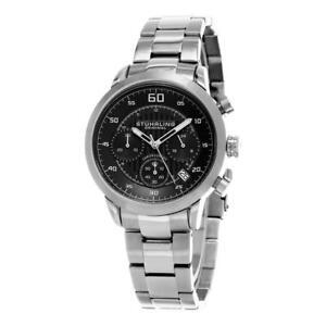Stuhrling 816 02 816 02 Monaco Chronograph Date Stainless Steel Mens