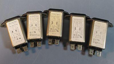 Schaffner FN365-4//01 Fused 3-prong Plug 4amp 110//250V