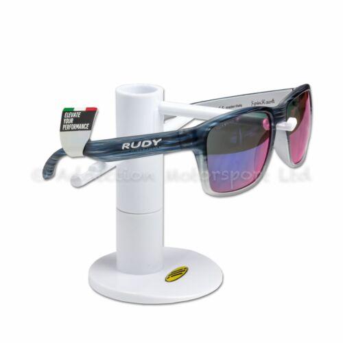 Rudy Project Lifestyle Sunglasses Spinhawk Blue Streaked Matt Polar 3FX MLS Red