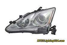 TYC Left Driver Side Xenon HID Headlight for Lexus IS250 IS350 06-08 w/AFS