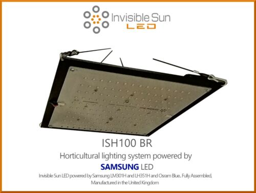 Invisible Sun LED ISH100 BR Horticultural lighting system powered by...