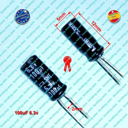 4pz-radial electrolytic capacitor 100uf to 820uf 6.3v