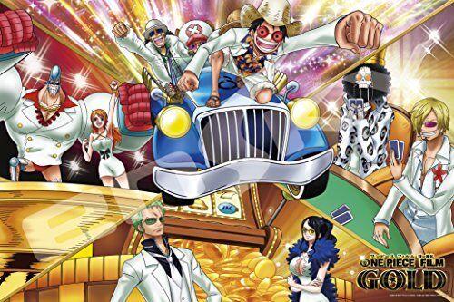 ONE PIECE largest FILM GOLD jigsaw puzzle World's largest PIECE entertainment city Ensky 9e37c3