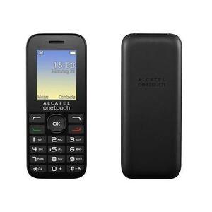 ALCATEL-OneTouch-10-16G-mobile-nero-1-8-034-schermo-con-FM-Sbloccato-SIM-Gratis