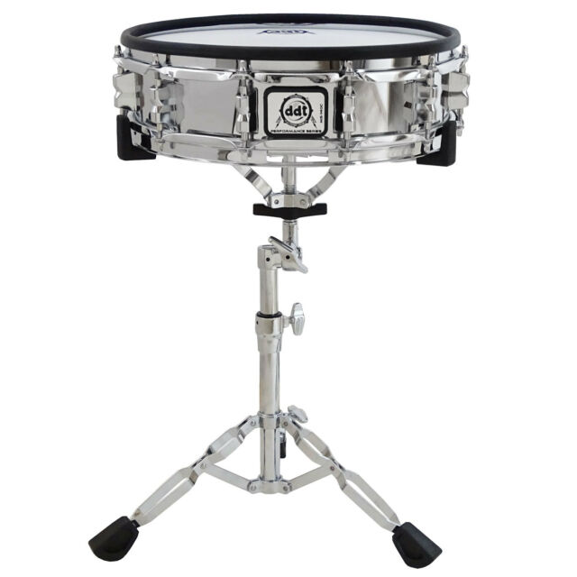 DDT MS-140C E-Drum Snare Pad Chrome 14 Zoll + Pearl S-830 Snare-Ständer