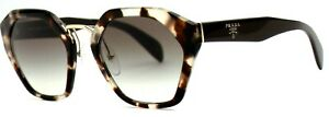 Prada-Damen-Sonnenbrille-SPR04T-UAO-0A7-55mm-braun-transparent-silber-Etui-4-2