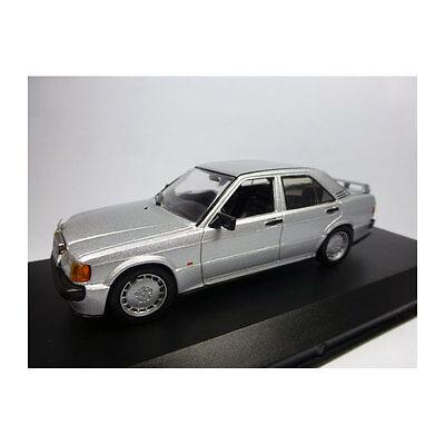 New !° Elegant Shape Whitebox Wb246 Mercedes Benz 190e 2.3 16v Silver Scale 1:43 216959