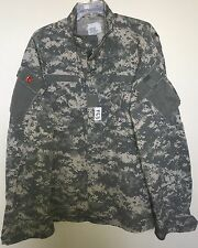 US ARMY ACU ARMY COMBAT UNIFORM SHIRT X-LARGE LONG USED (F63)
