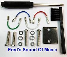 Technics Headshell Leads Cartridge Turntable Screws Wires Needle Brush Lead Kit