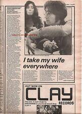 JOHN LENNON (Beatles) Double Fantasy album review 1980 UK ARTICLE / clipping