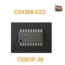 CS4398-CZZ DAC IC TSSOP28  CRYSTAL / CIRRUS CS4398-CZZR UK Stock