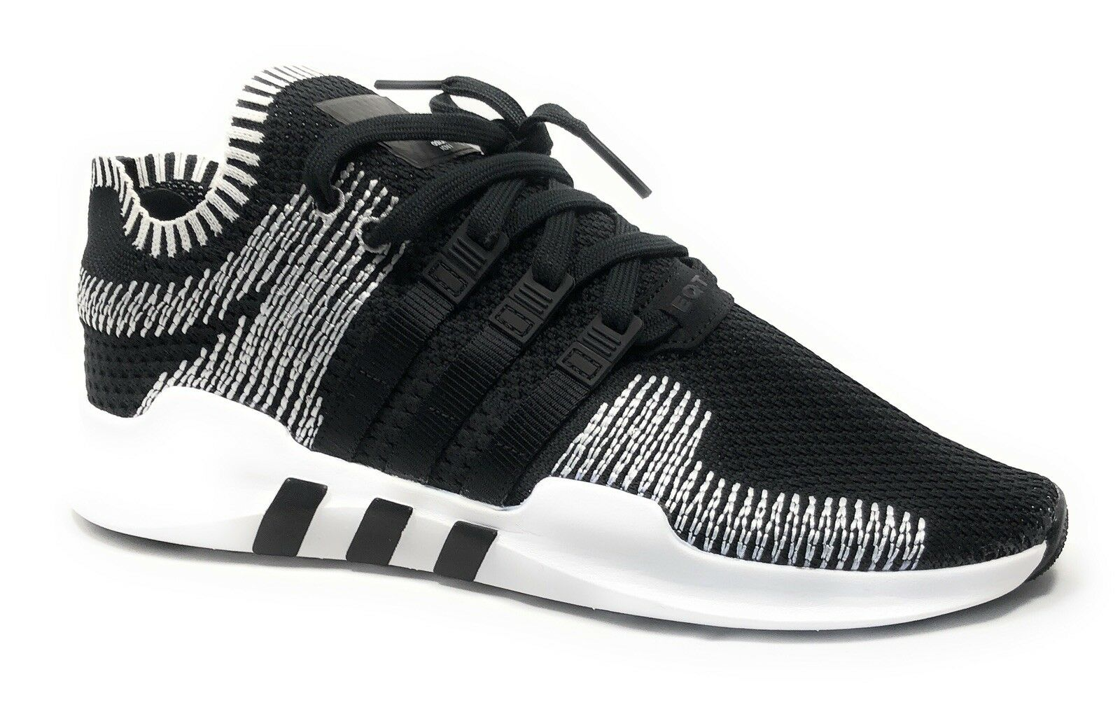 Adidas EQT Support ADV Primeknit Core Black/White BY9390 Men's size 9.5