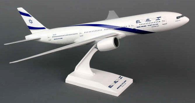 El al airbus boeing 777-200 1 200 skymarks modelo skr745 b777 elal israel