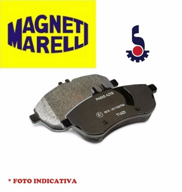 KIT PASTIGLIE FRENO POSTERIORI FIAT STILO 1.6 / 1.8 16V MAGNETI MARELLI PF0125