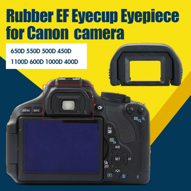EF Rubber Viewfinder Eyecup Eyepiece For Canon EOS 1200D 1100D 1000D 100D 500D