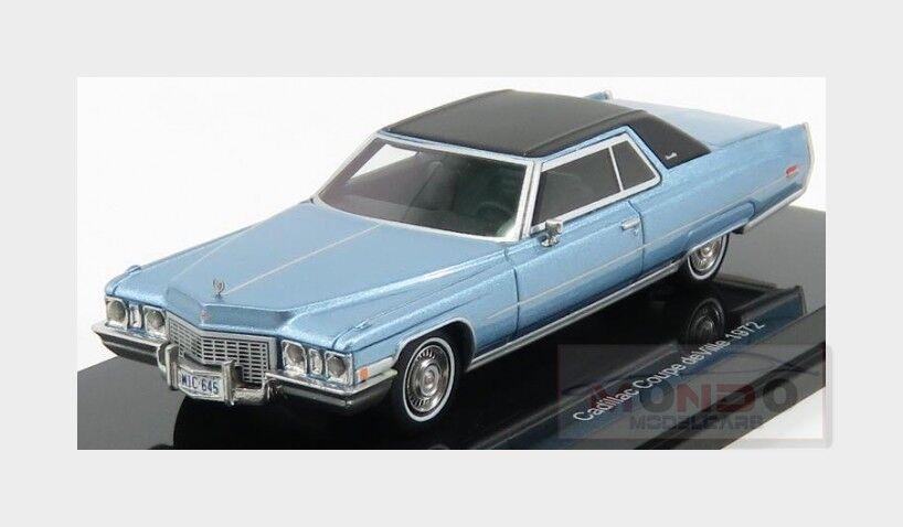 Cadillac Coupe De Ville 2-Door 1972 Light Light Light bluee Met NEOSCALE 1 64 NEO60005 8e2473