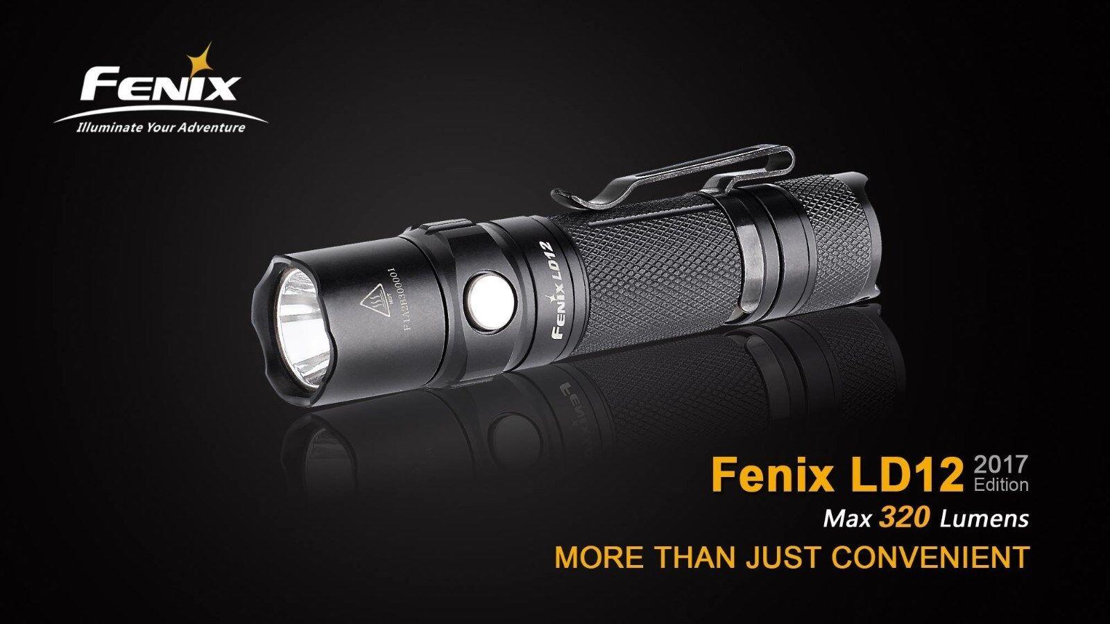 Fenix ld12 DEL Lampe de poche 2017 Edition avec avec avec 320 lm 95a83f