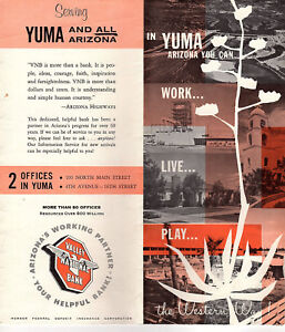 Details about Yuma Arizona Vintage 1960's Travel Brochure Black & White on porterville street map, ouray street map, apache junction street map, ft. huachuca street map, el centro street map, clifton street map, san tan valley street map, south phoenix street map, cave creek street map, logan street map, sun city street map, anthem street map, santa cruz county street map, surprise street map, ishpeming street map, chino street map, mohave street map, nogales street map, woodland park street map, cesar chavez street map,