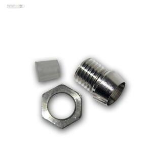 10-x-LED-HALTER-Schrauben-Metall-Fassung-3mm-LEDs-SCREW