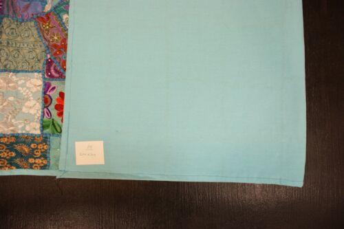 Wandteppich Wandbehang Tischdecke in verschiedene Größe Blau gute Verarbeitung