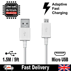 Fast Charge Micro Usb Data Sync Phone Charger Cable For Charging Android 1 5m Ebay