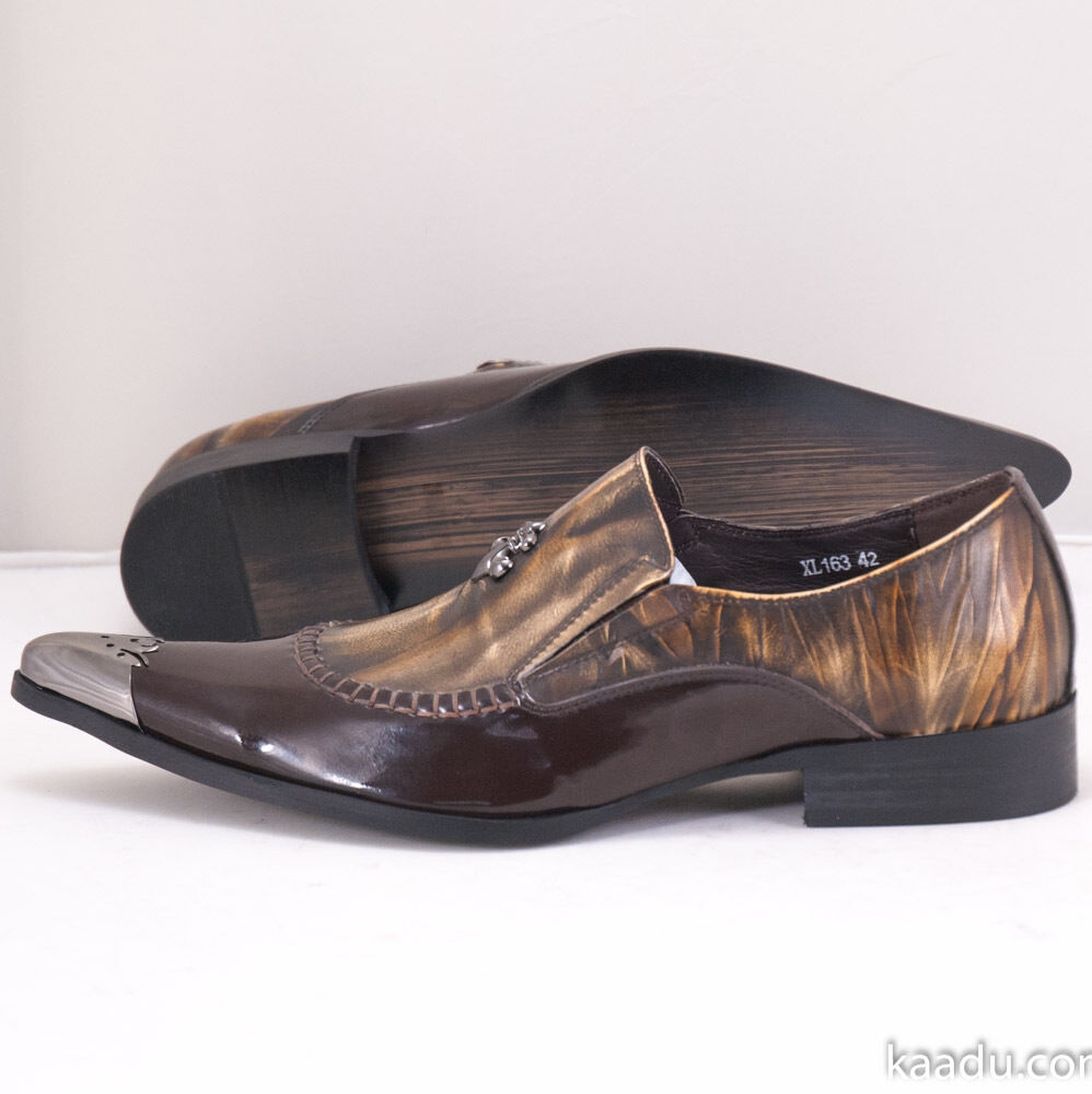 XL163 Clevis Taupe Fashion Dress Shoe Loafer Taupe Clevis d2a3f8