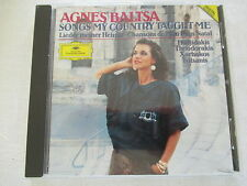Agnes Baltsa: Songs my country taught me - Stavros Xarhakos - CD West Germany
